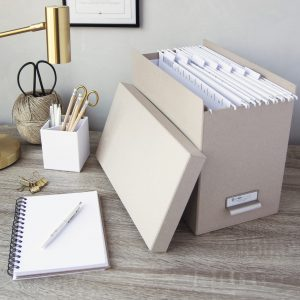 Filing & document storage